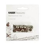 Kaisercraft - Kaisertreasures - Metal Drawer Knobs - Silver