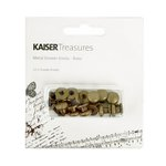 Kaisercraft - Kaisertreasures - Metal Drawer Knobs - Brass