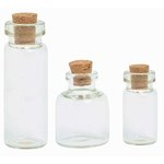 Kaisercraft - Kaisertreasures - Corked Bottles 3 Pieces