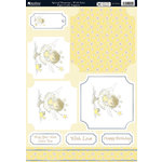 Kanban Crafts - All About Her Collection - Die Cut Punchouts and 8 x 12 Patterned Cardstock - Wish Fairy