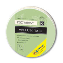 K and Company - Wacky Tac - Vellum Tape - 36 yards