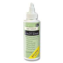 K and Company - Wacky Tac - Craft Bond - 4 ounces