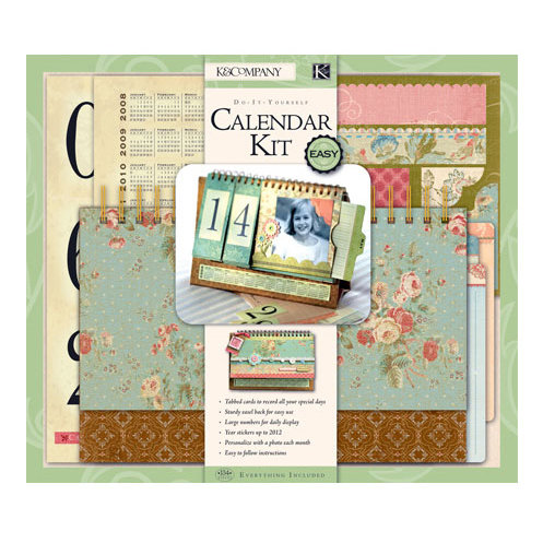 K and company do it yourself flipbook calendar kit solutioingenieria Image collections