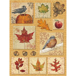 K and Company - Fall Collection by Tim Coffey - Grand Adhesions Stickers - Leaves