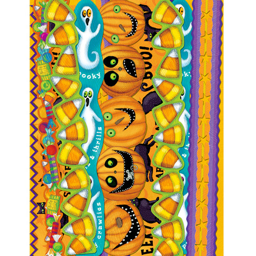 K and Company - Halloween Collection by Tim Coffey - Adhesive Paper Borders