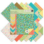 K and Company - 12 x 12 Designer Paper Pad - Summer Travel