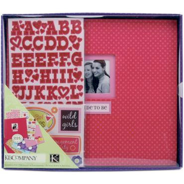 K and Company - 8.5 x 8.5 Boxed Scrapbook Kit - Bride To Be