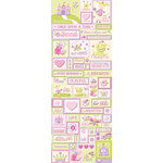 K and Company - Glitter Embossed Stickers - Princess Icons, BRAND NEW