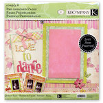 K and Company - Simply K - 12 x 12 Pre-Designed Pages - Ballerina