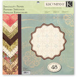K and Company - Classic K Collection - 12 x 12 Specialty Paper Pad