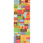 K and Company - Spaghetti Collection - Embossed Stickers with Varnish Accents - Words, Phrases and Icons, CLEARANCE