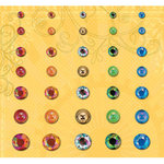 K and Company - Serendipity Collection - Adhesive Gems