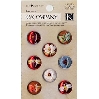 K and Company - Blossomwood Collection by Tim Coffey - Baubles, CLEARANCE