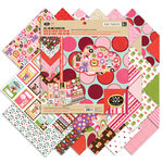 K and Company - Ka-Zoo Valentine Collection - 12 x 12 All-In-One Paper Pad