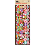 K and Company - Ka-Zoo Valentine Collection - Adhesive Paper Borders, CLEARANCE