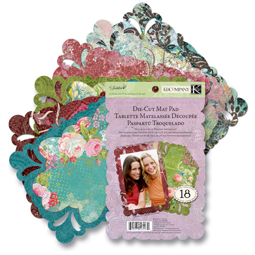 K and Company - Jubilee Collection - Die Cut Mat Pad, CLEARANCE