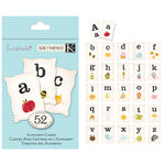K and Company - Handmade Collection - Alphabet Cards, CLEARANCE