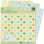 K and Company - Confetti Collection - 12 x 12 Glitter Paper Pack