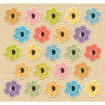 K and Company - Handmade Collection - 3 Dimensional Gem Stickers - Flowers