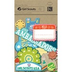 K and Company - Girl Scouts Collection - Die Cut Cardstock Pieces, CLEARANCE