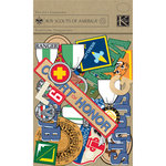 K and Company - Boy Scouts of America Collection - Die Cut Cardstock Pieces, CLEARANCE