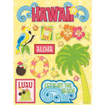 K and Company - Citronella Collection - Grand Adhesions Stickers - Hawaii