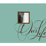 K and Company - Simply K Collection - 8.5 x 8.5 Scrapbook Album - Our Life