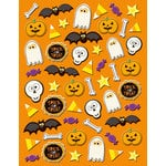 K and Company - Spooktacular Collection - Pillow Stickers