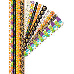 K and Company - Spooktacular Collection - Adhesive Paper Borders with Glitter Accents, CLEARANCE