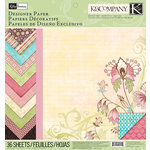K and Company - Blossom Collection - 12 x 12 Designer Paper Pad