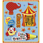 K and Company - Life's Little Occasions Collection - 3 Dimensional Stickers  with  Epoxy Accents - Circus