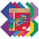 K and Company - Life's Little Occasions Collection - 12 x 12 Designer Paper Pad - Primary