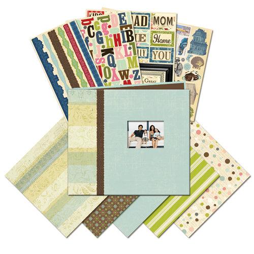 K and Company - 8.5 x 8.5 Mega Scrap Kit - Family