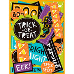 K and Company - Spooktacular Collection - Die Cut Cardstock Pieces with Glitter Accents - Words, CLEARANCE