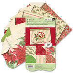 K and Company - Yuletide Collection - Christmas - Die Cut Cardmaking Paper Pad
