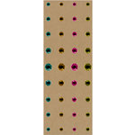 K and Company - Greenhouse Collection - Adhesive Gems, CLEARANCE