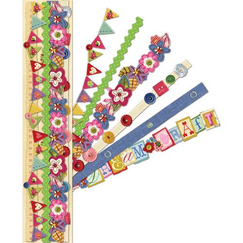 K and Company - Brenda Walton - Adhesive Paper Borders - Olivia Rose