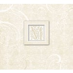K and Company - 12 x 12 Scrapbook Album - Wedding Elegant Scrolls