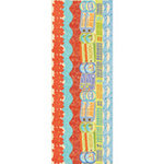 K and Company - Happy Trails Collection - Adhesive Paper Borders, CLEARANCE