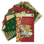 K and Company - Glad Tidings Collection - Christmas - Die Cut Mat Paper Pad, CLEARANCE