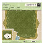 K and Company - Julianne Collection - 12 x 12 Stitched Paper Pack