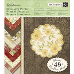 K and Company - Julianne Collection - 6 x 6 Specialty Paper Pad