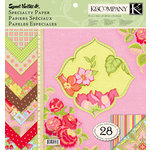 K and Company - Sweet Nectar Collection - 12 x 12 Specialty Paper Pad, CLEARANCE