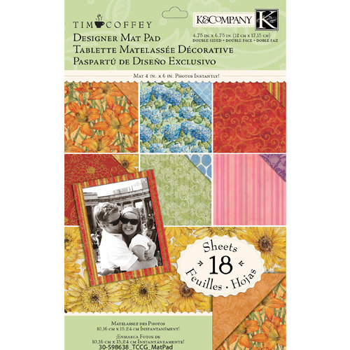 K and Company - Cottage Garden Collection by Tim Coffey - Designer Mat Pad