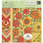 K and Company - Cottage Garden Collection by Tim Coffey - 12 x 12 Designer Paper Pad