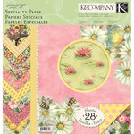K and Company - Spring Blossom Collection - 12 x 12 Specialty Paper Pad