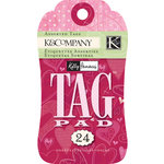 K and Company - Valentine Collection - Tag Pad