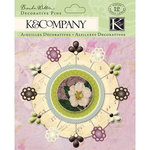 K and Company - Flora and Fauna Collection - Decorative Pins