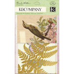 K and Company - Flora and Fauna Collection - Cards and Envelopes - Glassine and Kraft