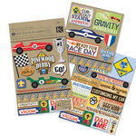 K and Company - Boy Scouts of America Collection - Embellishment Flip Pack - Pinewood Derby